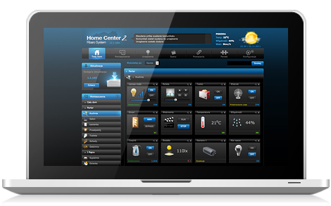 Fibaro Home Center Interface